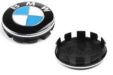 1X GENUINE BMW E46 E90 X5 M3 ALLOY WHEEL CENTER CAP HUB BADGE ORIGINAL
