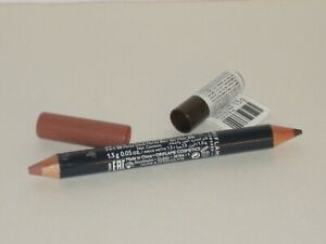 ORIFLAME SWEDEN ON COLOUR LIP & EYE DUO CRAYON # NUDE & CHOCOLATE 1.5 g.  NEW!