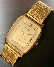 Armitron Quartz Water Resistant Date Stainless Steel Timepiece Watch Japan Movt