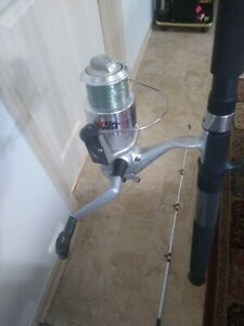 Fishing rod and reel combo spinning