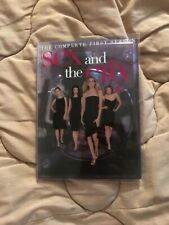 Sex and the City: The Complete First Season (DVD, 2000, 2-Disc Set) GOOD