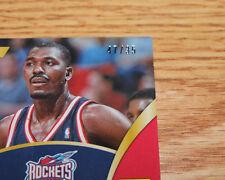 ERROR SN 47/35 2013-14 Panini Select Swatches Hakeem Olajuwon Houston Rockets