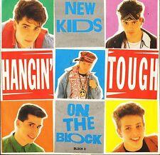 "NEW KIDS ON THE BLOCK hangin' tough/didn't i BLOCK 3 uk cbs 1989 7"" PS EX/EX"