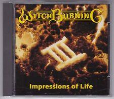 WITCH BURNING - IMPRESSIONS OF LIFE RARE 6 TRACK CD MELODICROCK AOR/ CD WIE NEU!