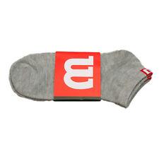 WILSON Socken SPORTSOCKEN Tennissocken 2er PACK Farbe Grau - NEU