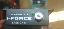 New listing zapco i force car audio amplifier bass/remote level control 6pin