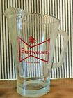 Vintage Budweiser Glass Beer Pitcher