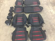 FACTORY OEM CLOTH SEAT COVERS BLACK 2015 2016 2017 SPORT FORD F150 SUPER CREW