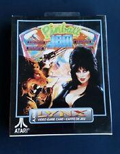 PINBALL JAM Atari LYNX New Sealed Complete RARE Elvira