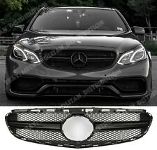 Mercedes E LCI w212/s212,single-fin grille,GLOSS BLACK,night edition,AMG S E63