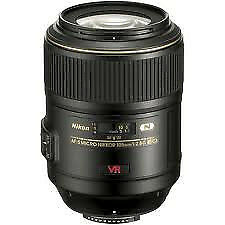 New Nikon AF-S 105mm f2.8G VR IF-ED Micro