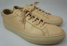 Common Projects Mens Original Achilles Low Natural Sneaker Shoe Size 40 EU 7 US