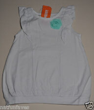 Gymboree toddler girl gray striped w/ green flower tee shirt size 2 2T NWT top