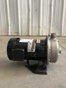 Thermal Care ACDU120/315T3G 1-1/2HP Stainless Centrifugal Pump 3450/2875RPM 3PH