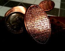 """Lord's Prayer"" Golf Ball Marker Copper Flattened penny - Ball Marker"