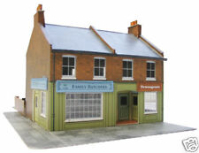 Superquick Redbrick Terrace Corner. C07 NEW (00 Gauge)