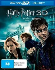Harry Potter And The Deathly Hallows  Part 1 - 3D : NEW Blu-Ray 3-D