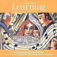 Music for Learning CD  New Sealed The Arcangelos Chamber Ensemble ABT Music