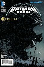 BATMAN and robin # 18  NEW 52  1st PRINT (death of robin)