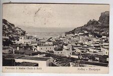 cartolina postcard - ISOLA DI RODI PANORAMA DI LINDOS