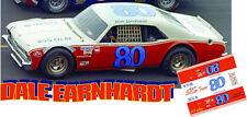 CD_2879 #80 Dale Earnhardt Sr.  1972 Chevy Nova  1:43 Scale Decals