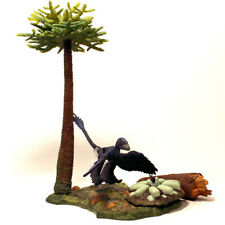 Beasts of the Mesozoic Environmental Pack: Forest with Microraptor action figure
