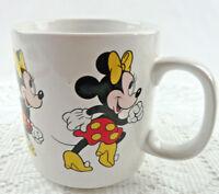 Vintage Disney Minnie Mouse Coffee Tea Mug Cup 8 oz Made in Korea