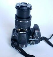 Nikon D3400 DSLR Camera with 18-55mm Lens - Black