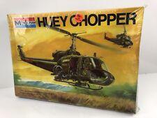 Monogram 1976 Vintage Huey Chopper Model Kit #5602 1:24 Scale Plastic Model Kit