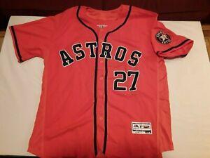 Jose Altuve Autographed Jersey - Houston Astros - Size 48 - JSA Certified