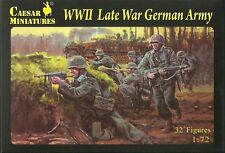 Caesar Miniatures H074 WWII Late War German Army 1/72 Scale Plastic Figures