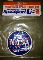 Vintage NASA Kennedy Space Center Spaceport USA Patch - NEW Sealed - FREE SHIP