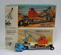 Corgi Toys Gift Set No. 27,  Machinery Carrier with Priestman Cub, Superb N Mint