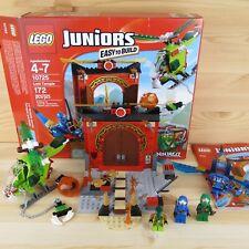LOST TEMPLE 10725 - NINJAGO - 2016 LEGO JUNIORS COMPLETE SET + BOX & INST