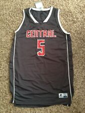 NEW Central Michigan Chippewas 2013 Men's Large Gray Prototype Basketball Jersey