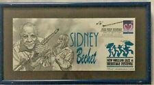 Framed Sidney Bechet New Orleans Jazz Fest Commemorative Cachet Envelope 1997