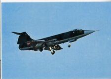 AERONAUTICA MILITARE F 104 G caccia bombardiere decollo carrello VG RARA
