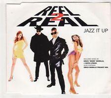 (GX149) Reel 2 Real, Jazz It Up - 1996 CD