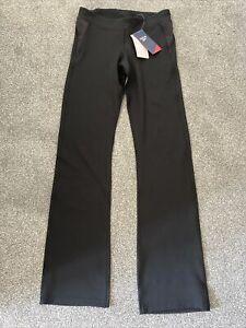 Reebok Black Yoga Pants Legging Bootcut Size M Speed Wick