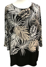 34fe0415fbb Plus size Tunic Top by SOFO Curves Sizes 16 to 32 Palm Print New Summer  Blouse