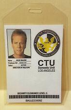 Jack Bauer 24 CTU ID Card prop