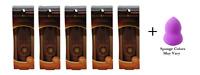 Physicians Formula Bronze Glow-Boosting Light to Med (5 Pack) + Makeup Sponge