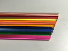 "20 Pieces 36"" Length 1/8"" Assortment Colored Acrylic Rod (60 Ft Total)"