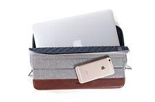 KMP Schutzhülle für Apple iPad Pro MacBook Air Protective Case Sleeve braun