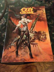 OZZY OSBOURNE 1986 THE ULTIMATE SIN CONCERT TOUR PROGRAM BOOK BOOKLET