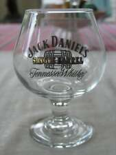 JACK DANIELS SINGLE BARREL TENNESSEE WHISKEY FOOTED SNIFFER GLASS