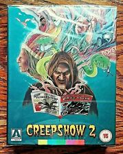 Creepshow 2 Limited Edition Blu-Ray NEW Sealed Arrow Exclusive Teal REGION B