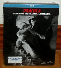 Dracula Edition Limited Steelbook Blu-Ray New Sealed Terror (Sleeveless Open)