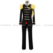 Hetalia: Axis Powers Japan/Honda Kiku Black Uniform COS Clothing Cosplay Costume