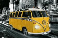 VW Camper : New York Taxi - Maxi Poster 61cm x 91.5cm new and sealed